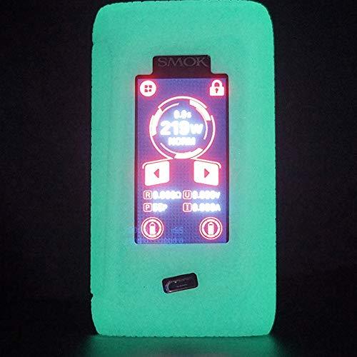 BonvieTech Silicone Texture Case for SMOK Morph 219W Box Mod Anti-Slip Protective Rubber Sleeve Cover Shield Wrap