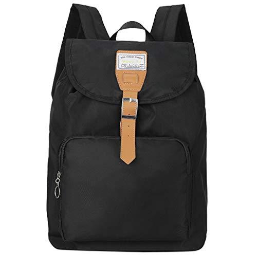 Hot Clearance! DDKK backpacks Vintage Canvas Laptop Backpack School Bag Hiking Travel Rucksack 25L-Casual Men Canvas Backpack School Travel Bag