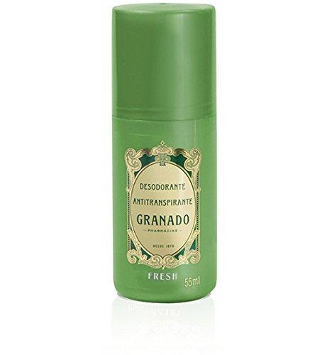 Linha Antisseptica (Fresh) Granado - Desodorante Antitranspirante Roll On 55 ML - (Granado Antiseptic (Fresh) Collection - Antiperspirant Roll-on Deodorant 1.85 Fl Oz)