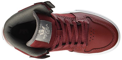 Skate Brick Supra White II Stacks Leather Red Shoe 1x7EAwS7