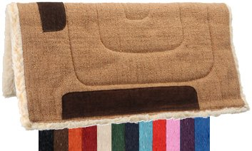Fleece Heavy Saddle Pads - 2