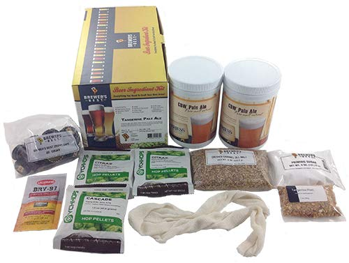 - Brewer's Best Home Brew Beer Ingredient Kit - 5 Gallon (Tangerine Pale Ale)