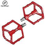 LYCAON-Pedali-per-Bicicletta-Leggero-064lb-Coppia-Antiscivolo-CR-Mo-in-Alluminio-con-Cuscinetto-a-Sfere-sigillato-CNC-3-Cuscinetti-Pedali-Pedali-Bici-per-MTB-BMX-con-Chiave