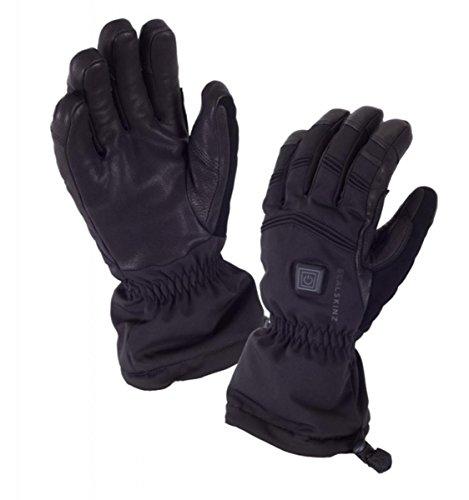 eather Heated Gloves - L REG - BLACK ()