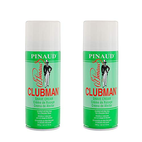 Clubman Shave Cream 12 Ounce (354ml) (2 Pack)
