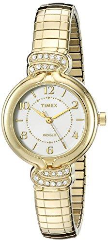 Timex Women's Anna Avenue | Gold-Tone w Swarovski Crystals Dress Watch TW2P61300