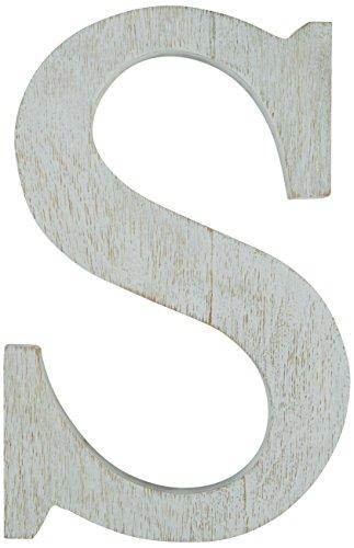 Mud Pie Wood Block Initial-S by Mud Pie