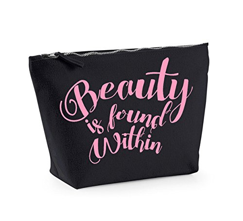Beauty Black Bag and Cosmetics Within Accessory Up is Make Pink Organiser Found qvx6wYngt