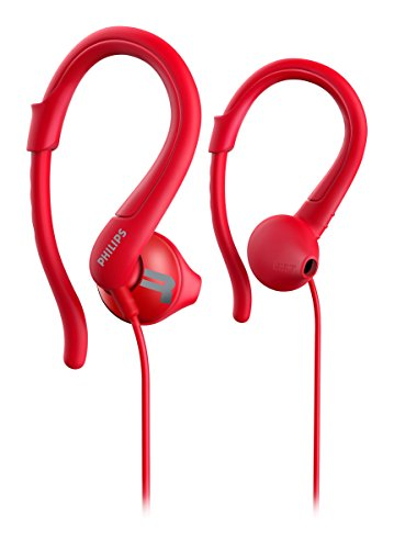 Philips ActionFit SHQ1250TRD/27 In-ear Sweatproof Red
