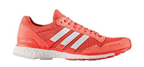 Adidas Adizero Adios 3 Kvinder Løbesko Sol Rød Hvid Bb4902 XRXhhj