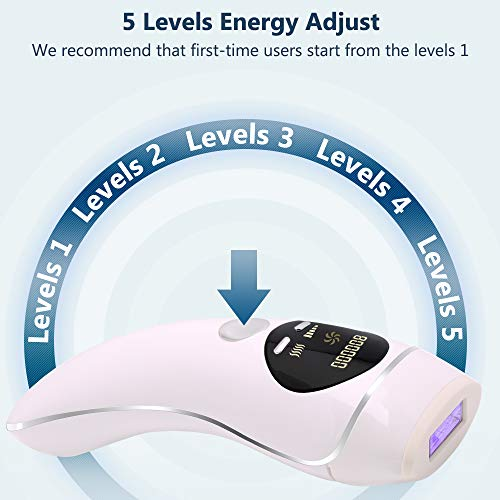 Verkstar IPL Hair Removal Device, Painless Permanent Hair Remover for Women and Man UPGRADE to 800,000 Flashes Silky Skin Laser Hair Removal for Facial Whole Body Home Use