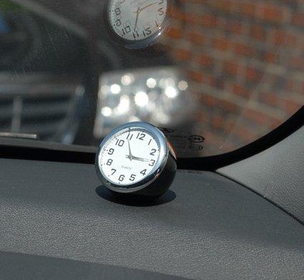 Automobile Clock For Car Dashboard Small Analog Quartz