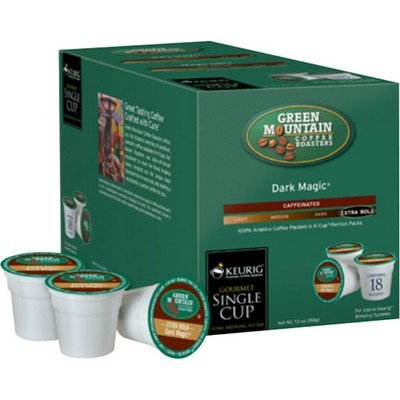 Green Mountain Coffee, Dark Magic (Extra Bold), 108-Count K-Cups for Keurig Brewers by Keurig (Image #1)