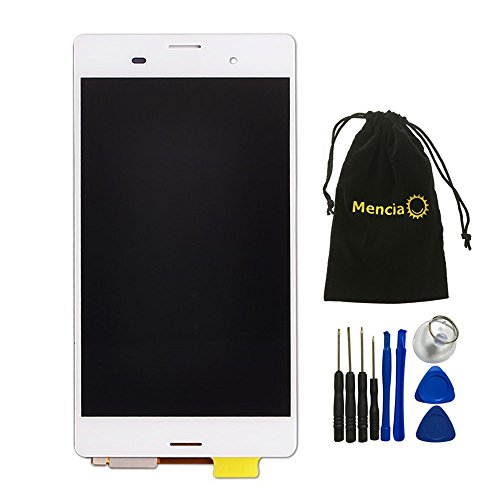 Touch Screen Digitizer Parts Replace Glass for Sony Xperia Z3 + TOOLS - 3