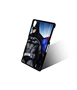 Custom Xperia Z2 Funda Case For Boys, DC Comics Superheroes DC Comics New Style With Plastic Material & Ultra Thin Design Finish Protect Your Moblie Phone(Sony Xperia Z2)