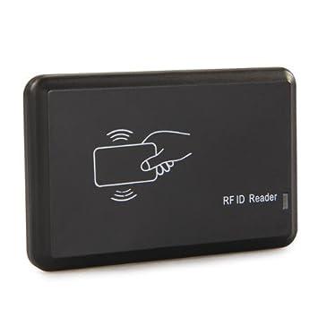 Lector de tarjetas RFID de proximidad EM para PC, con interfaz USB: Amazon.es: Informática