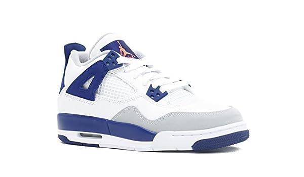buy online ff25d b9062 Amazon.com  Air Jordan 4 Retro Gg (Gs)  Knicks  - 487724-132 - Size 9.5   Jordan  Sports   Outdoors