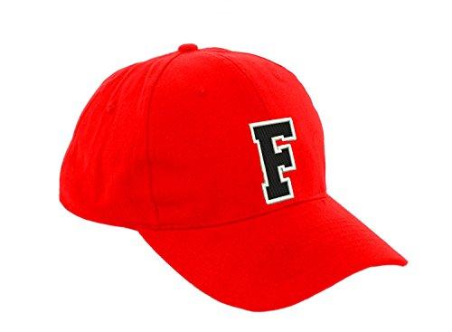 Children School Baseball Cap Boy Girl Adjustable Snapback Kids Hat Letter A-Z LA