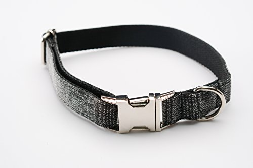 TheGrowths Personalized Dog Collar, Stainless Steel Quick Re