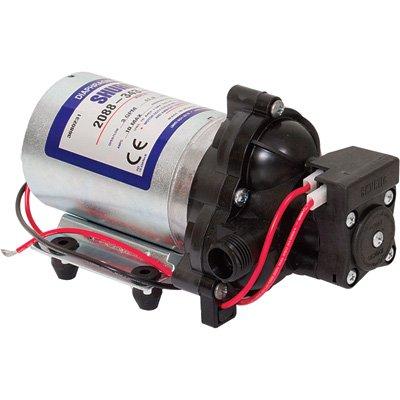 SHURflo On-Demand Diaphragm Pump - 1/2in. Ports, 180 GPH, 12 Volt Motor, Model# 2088-343-435