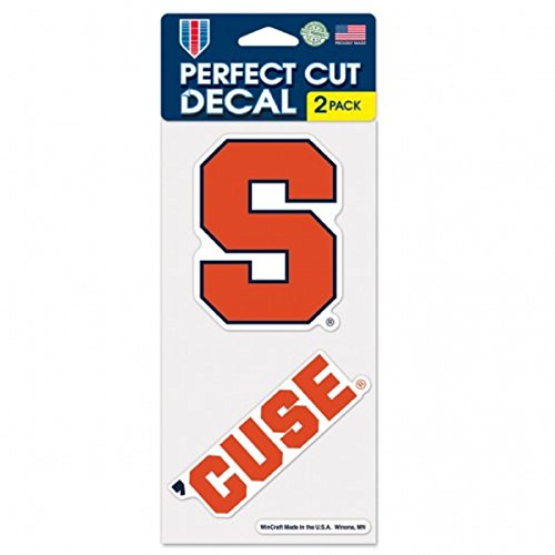 (WinCraft NCAA Syracuse University Perfect Cut Decal (Set of 2), 4