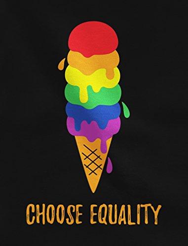 Rainbow T Sweatshirt Homme Green Ciel Flag Egalité En shirts Chiné Blanc Turtle Glace Arc 86gqZ