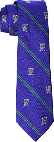LAUREN Ralph Lauren Men's Tennis Crest Tie Royal One Size