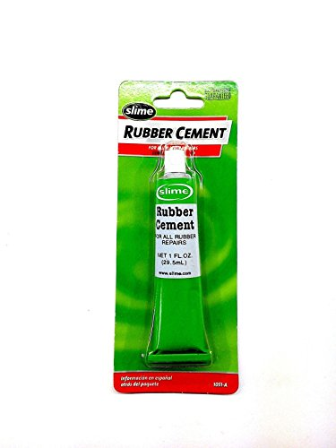Slime Rubber Cement Tire Repair 1oz Tube ~ Wheel~Bicycle~Patch~Plug~Glue~Bike ~ (Bike Tire Repair Glue compare prices)