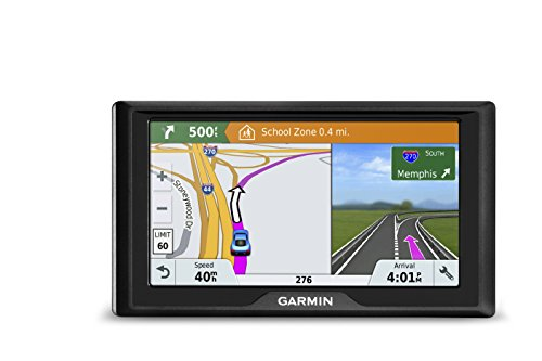 Garmin Drive 61 USA LMT-S GPS Navigator System with Lifetime Maps, Live Traffic and Live Parking, Driver Alerts, Direct Access, TripAdvisor and Foursquare data