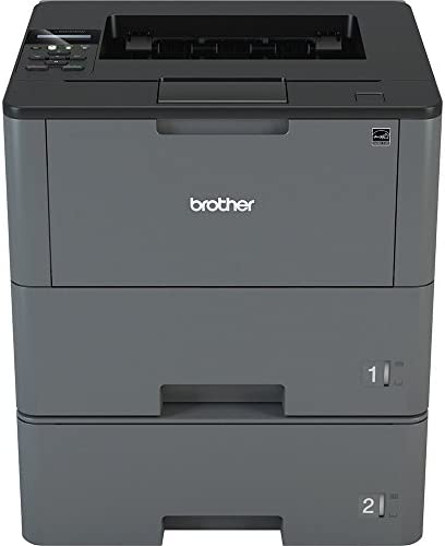 Brother HL-L6200DWT Wireless Monochrome Laser Printer with Duplex Printing and Dual Paper Trays Amazon Dash Replenishment Ready