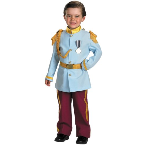 [Disney Prince Charming Child Costume, 4-6, Blue by Disguise Inc by Disguise] (Prince Costumes)