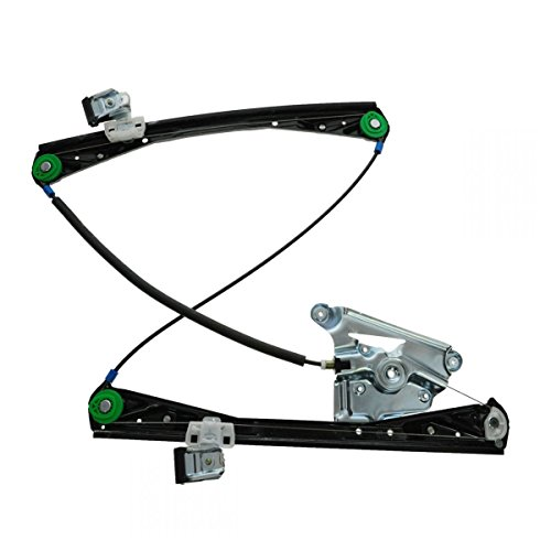 Front Door Power Window Regulator w/o Motor LF Left Driver for 03-08 S-Type by AM Autoparts