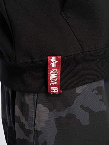 Logo À Small Industries Sweat Alpha Capuche Noir 1q0xSvP1R