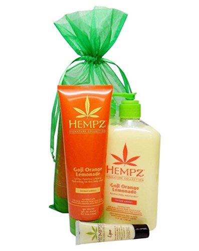 Hempz GOJI ORANGE LEMONADE Gift Set - 3 pc.