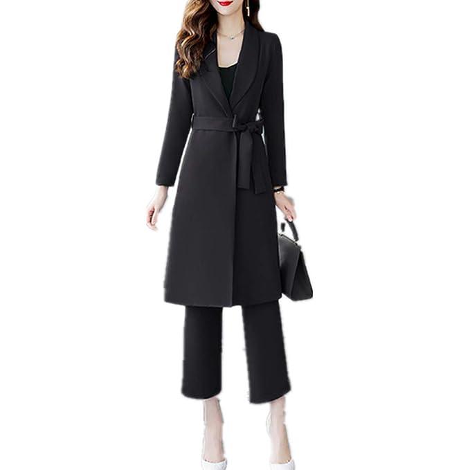 Amazon.com: Conjunto de 2 piezas de pantalones de mujer ...