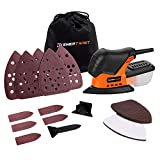 Cheap Enertwist Mouse Detail Sander, 13000OPM Lightweight Compact Sander with Dust Box for Tight Corner and Small Hard-to-reach Areas Sanding Polishing in Home Decoration, DIY, ET-DS-100