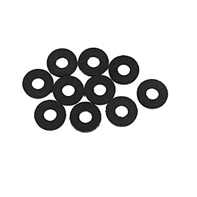 uxcell 5 x 12 x 1mm O-Ring Hose Gasket Flat Rubber Washer Lot for Faucet Grommet 10pcs