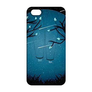 Kingsbeatiful Diy Yourself 2016 4.7 Ultra Thin Meteor moon swing beautiful scenery hbDys0vgPAZ 3D cell phone case cover for iphone 6 4.7