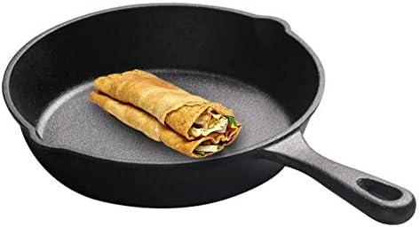 NBVCX Ustensiles de Cuisine poêle antiadhésive 16 cm Maison en Fonte poêle Batterie de Cuisine Outil de Salle à Manger Oeufs crêpes poêle à Surface Lisse Cuisine Mini antiadhésif
