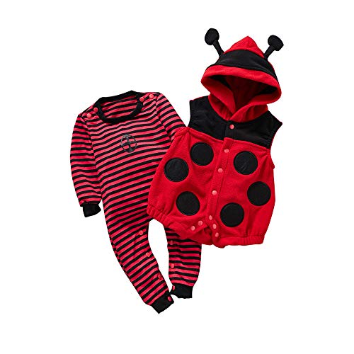 Mikistory Baby Romper Animal Cosplay Costume Pajamas Infant