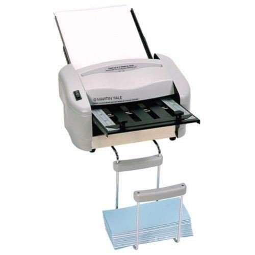 Martin Yale P7200 Premier Rapid Fold Automatic Desktop Letter/Paper Folder, Automatic Folding of 8 1/2'' x 11'' Paper and a Stack of Documents, 4000 Max Speed per hr, Includes Stacking Tray by Martin Yale