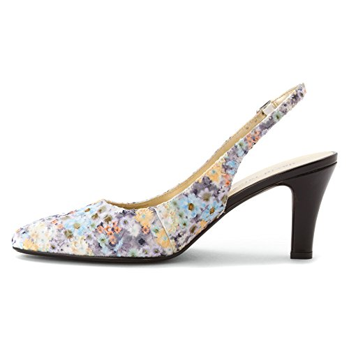 Scarpe Da Donna In Pelle Nera David Tate Multi
