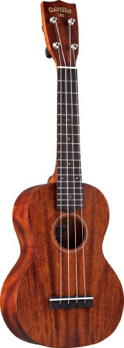 Gretsch G9110 Concert Standard Ukulele with Gig Bag - Vintage Mahogany - Centre Online Returns