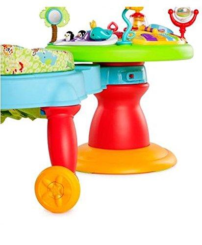 41ekZtbutkL - Bright Starts 3-in-1 Around We Go-Activity Station, Baby Walker And Baby Toys