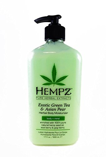Hempz Vitamins (Hempz Exotic Herbal Body Moisturizer, Green Tea and Asian Pear, 17 Fluid Ounce)
