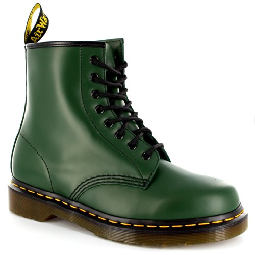 Green Eye Union Dr Martens Jack Boots 8 Men's w0wIqA5