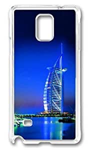 Adorable Dubai building Hard Case Protective Shell Cell Phone For Case Iphone 6Plus 5.5inch Cover - PC Transparent by icecream design