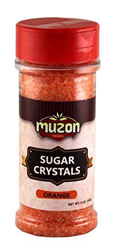 Sugar Sanding Decorative - Orange Sugar Crystal, Sparkling Sugar Food Decorative, Sanding Sugar, Halloween, Pumpkin 5 oz
