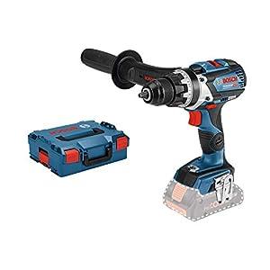Bosch Professional 06019G0102 Trapano-Avvitatore Litio, 0 W, 18 V, Blu, 1/2 pollice