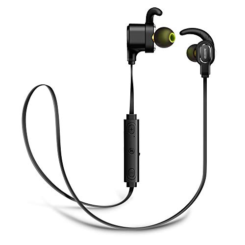 ESR Dual Driver Bluetooth Earphones, Wireless HD Sound, Waterproof IPX6, Magnetic Connection, 7-Hour Playtime, Microphone, Bass Boost, Secure Fit, Lightweight for iPhoneXS/XR/Samsung